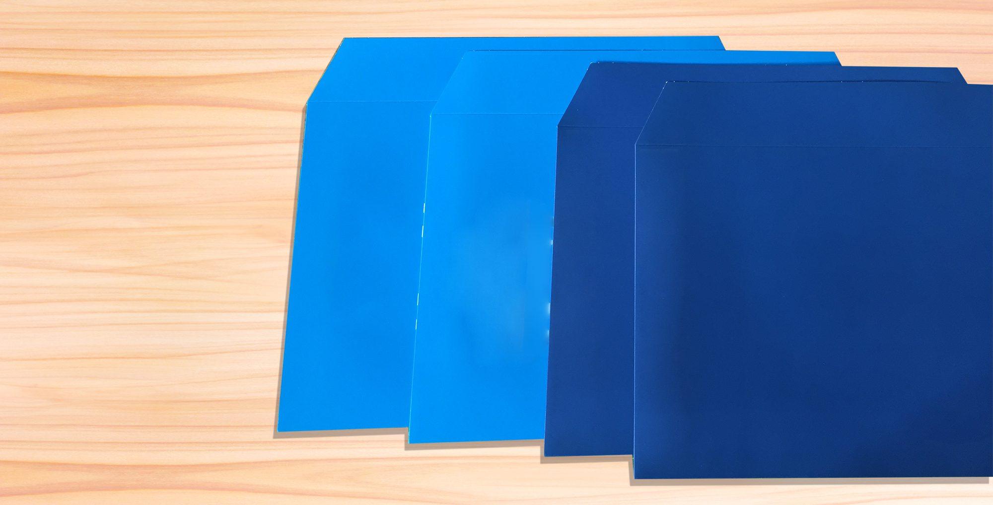 厚紙封筒の印刷